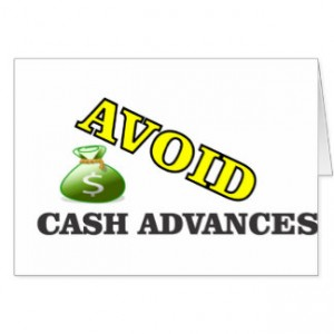 When to avoid cash advances
